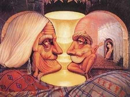 Ilusiones ópticas - Multicaras