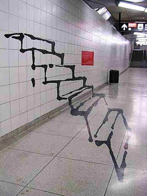 Ilusiones ópticas - La escalera fantasma