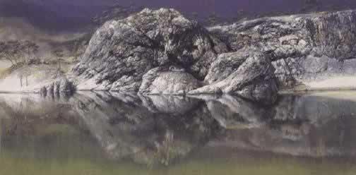Ilusión óptica Lago Burma