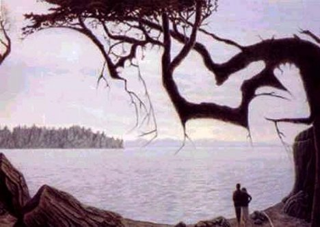 Ilusión óptica - En qué piensa la pareja