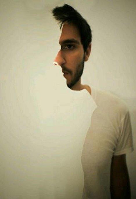 Ilusiones ópticas - De frente o de perfil